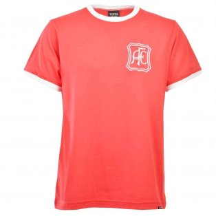Aberdeen 12th Man T-Shirt - Red/White Ringer