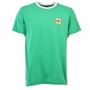 Northern Ireland 12th Man T-Shirt - Green/White Ringer