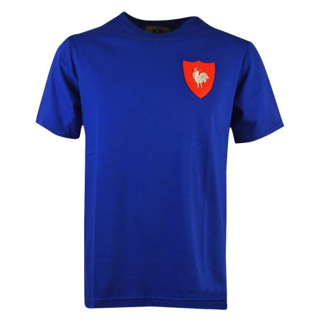 France Rugby T-Shirt - Royal