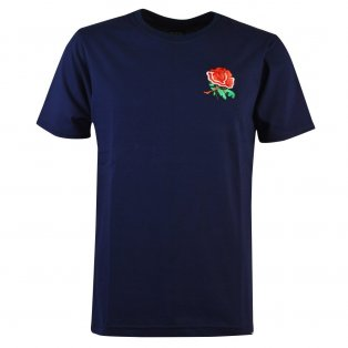 England Rugby T-Shirt - Navy