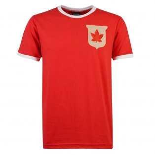 Canada Rugby T-Shirt - Red/White