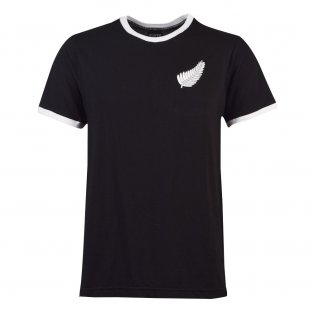 New Zealand Rugby T-Shirt - Black/White