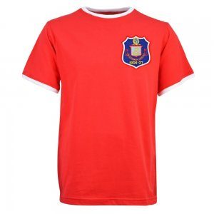 Sunderland 1937 12th Man T-Shirt - Red/White Ringer