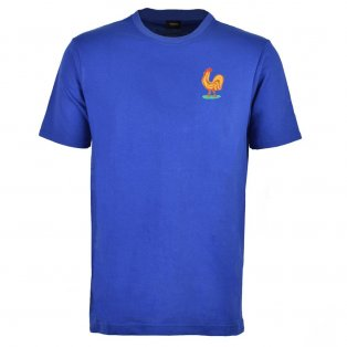 France Retro T-Shirt - Royal