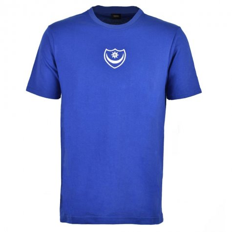 Portsmouth Retro T-Shirt - Royal
