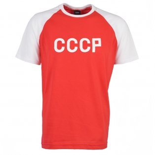 Soviet Union (CCCP) Raglan Sleeve Red/White T-Shirt