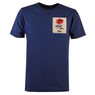 England Rose 1910 Navy T-Shirt