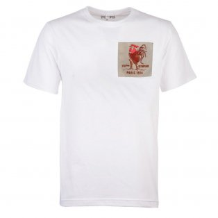 France Rooster 1924 White T-Shirt