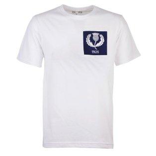Scotland Thistle 1925 White T-Shirt
