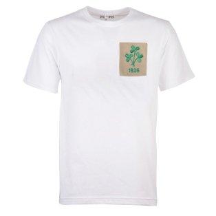 Republic of Ireland Shamrock 1926 White T-Shirt