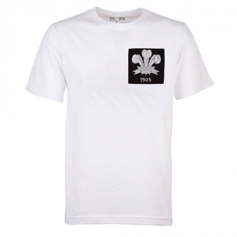 Wales Feathers 1905 White T-Shirt