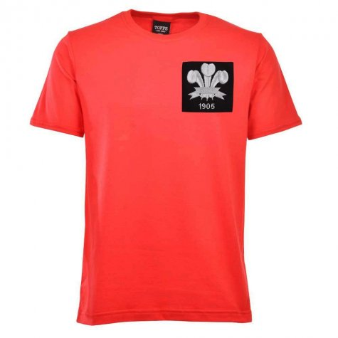 Wales Feathers 1905 Red T-Shirt
