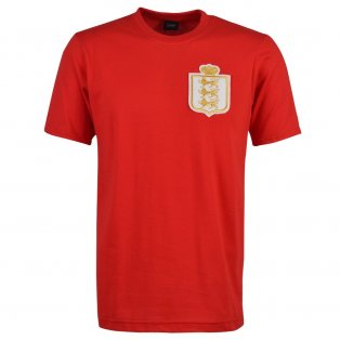 England Gold 1930's T-Shirt - Red