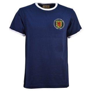 Scotland Football Club 1970's Navy T-Shirt