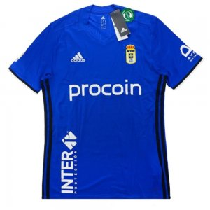 2016-17 Real Oviedo Adidas Home Football Shirt