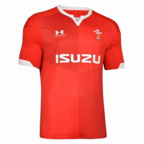 2019-2020 Wales Under Armour Home Rugby Shirt