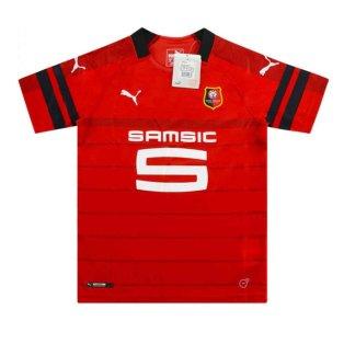 2018-2019 Rennes Puma Home Football Shirt (Kids)