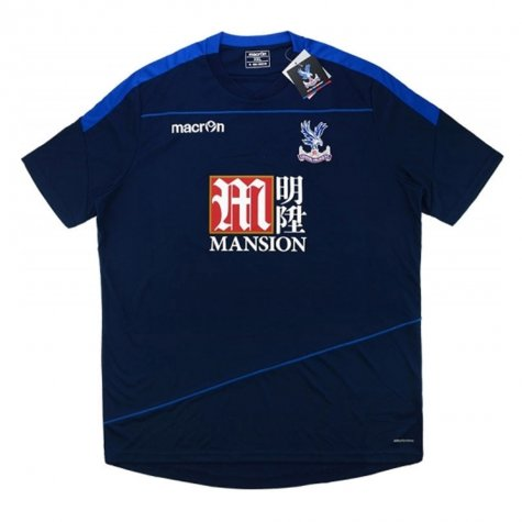 2016-17 Crystal Palace Macron Training Shirt (Navy)