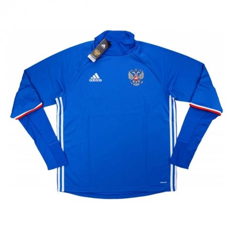 2016-17 Russia Adidas Training Top (Blue)