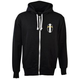 Juventus Zipped Hoodie - Black