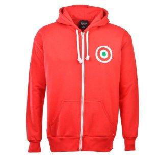 AC Milan FC Zipped Hoodie - Red