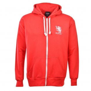Middlesbrough Football Club Zipped Hoodie - Red