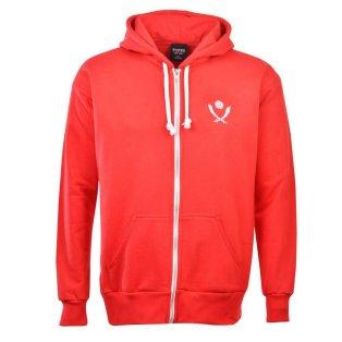 Sheffield United Football Club Zipped Hoodie - Red
