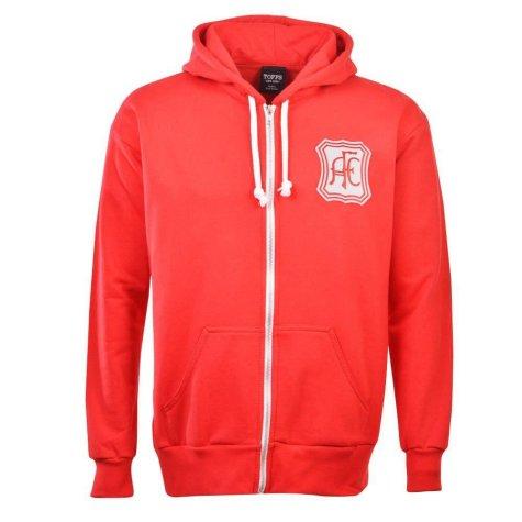 Aberdeen Football Club Zipped Hoodie - Red