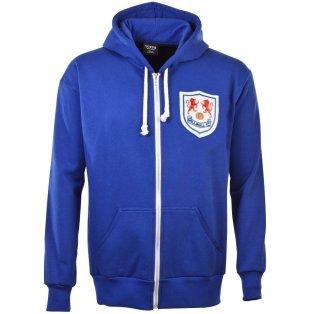 Millwall FC Zipped Hoodie - Royal
