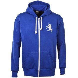 Gillingham FC Zipped Hoodie - Royal