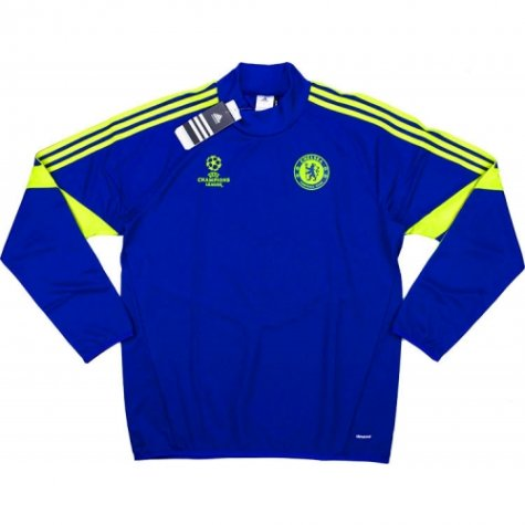 2014-15 Chelsea Adidas Champion League Training Top (Blue)
