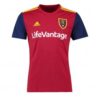 2018 Real Salt Lake Adidas Home Football Shirt