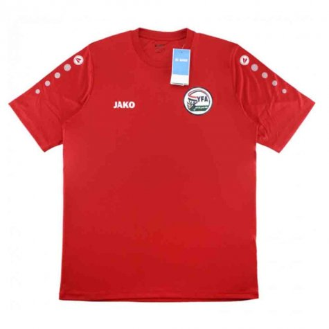2019-2020 yemen Jako Home Football Shirt