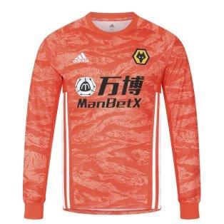 2019-2020 Wolves Away Adidas Goalkeeper Shirt