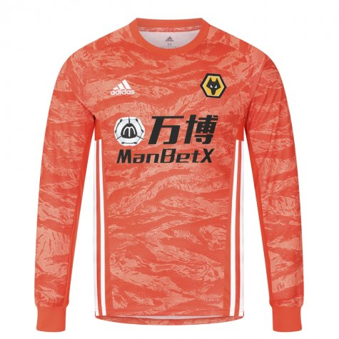 2019-2020 Wolves Away Adidas Goalkeeper Shirt