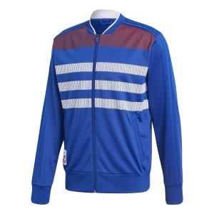 2018-19 France Adidas Country Identity Jacket (Blue)