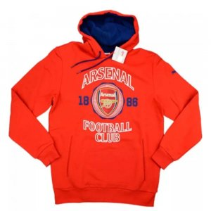 2014-15 Arsenal Puma Fan Hooded Sweat Top