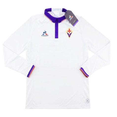 2016-17 Fiorentina Authentic Away Long Sleeve Football Shirt