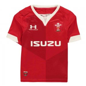 2019-2020 Wales Under Armour Home Rugby Shirt (Kids)
