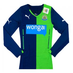 2014-15 Newcastle Puma Authentic ACTV Third Long Sleeve Football Shirt