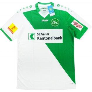 2016-17 St Gallen Home Football Shirt