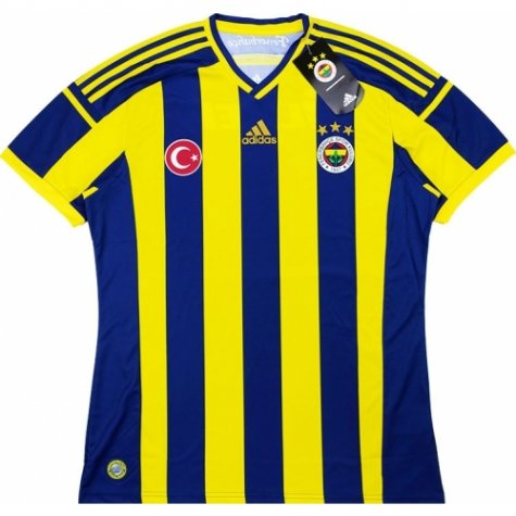 2014-15 Fenerbache Adidas Home Football Shirt