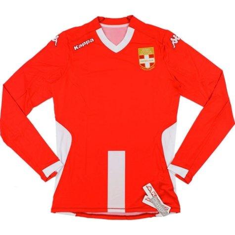 2014-15 Evian TG Kappa Authentic Third Long Sleeve Football Shirt