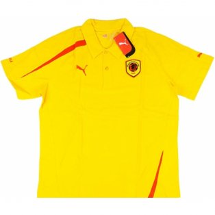 2008-09 Angola Puma Polo Shirt (Yellow)