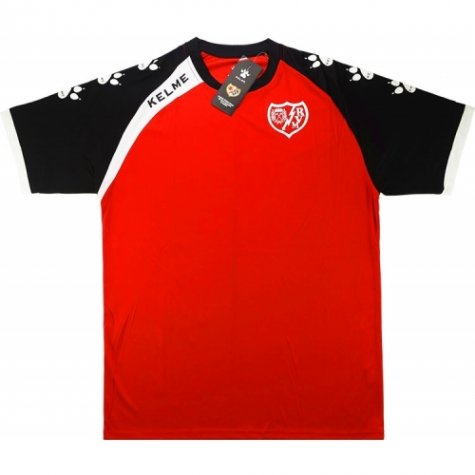 2016-17 Rayo Vallencano Kelme Training Shirt (Red)