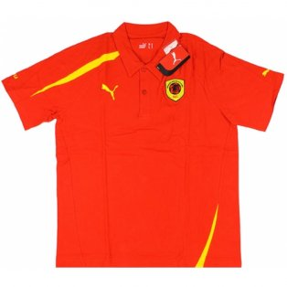 2008-09 Angola Puma Polo Shirt (Red)