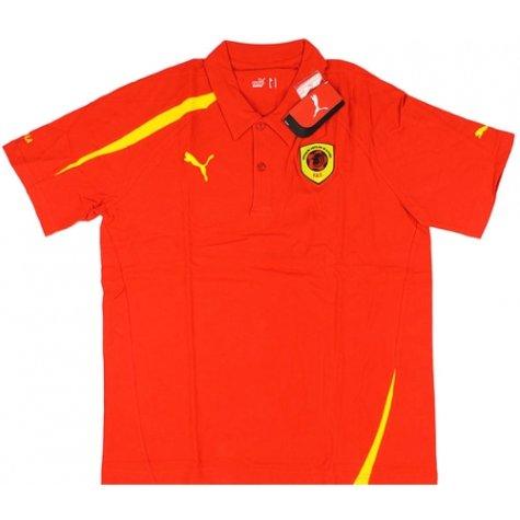 2008-09 Angola Puma Polo Shirt (Red)