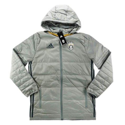 2016-17 Juventus Adidas Padded Jacket (Grey)