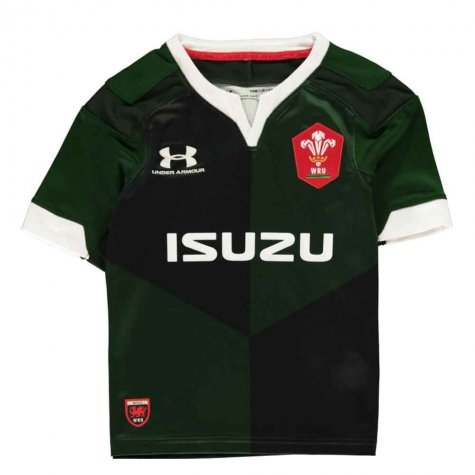 2019-2020 Wales Under Armour Away Rugby Shirt (Kids)