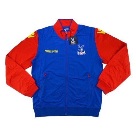2016-17 Crystal Palace Macron Anthem Jacket (Red)
